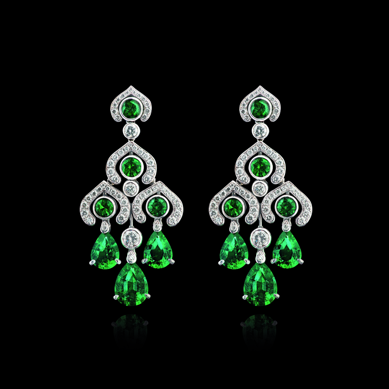 Devotion Emerald Earrings