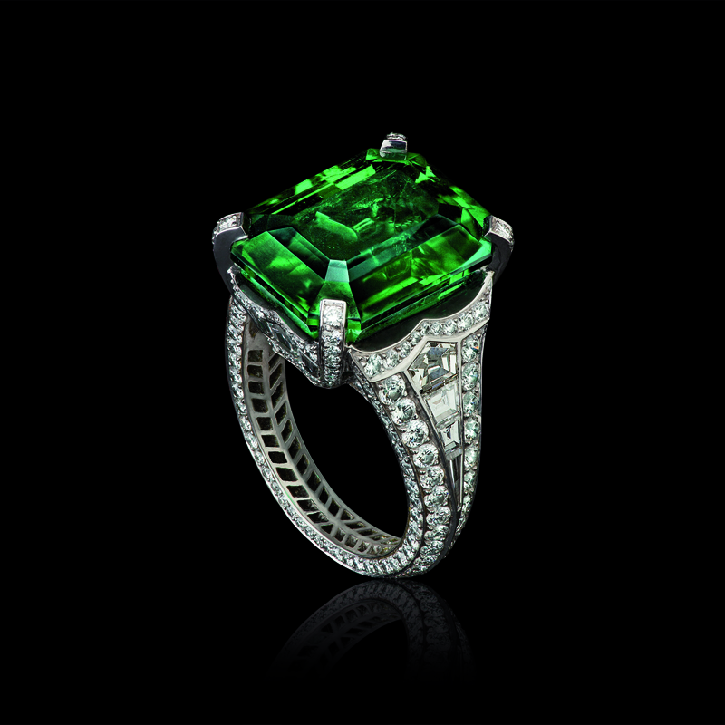 Devotion Emerald Ring