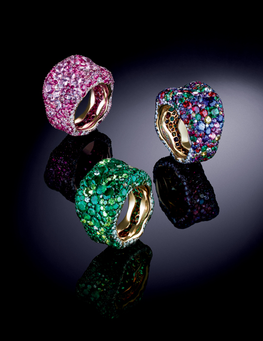 Fabergé The Art of Colour - Emotion Rings