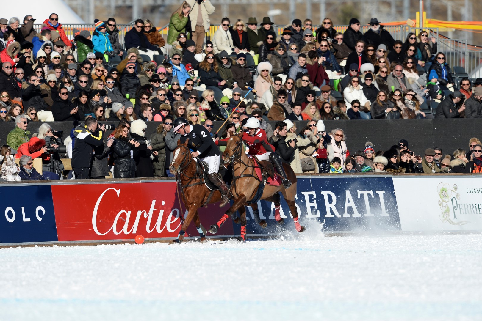 Final St Moritz 2017 Cartier vs Badrutt's Palace Hotel